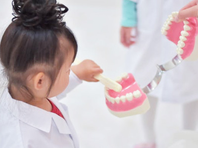 幼児の受け口療法